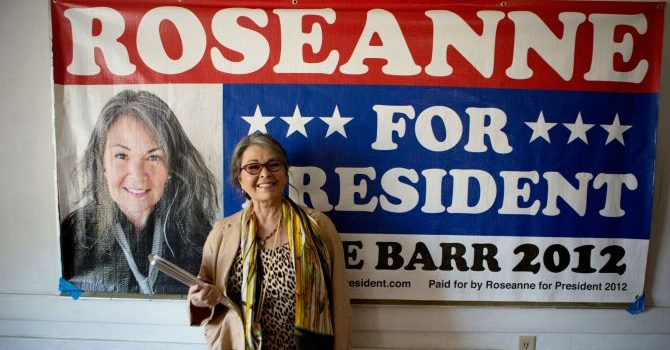 Roseanne for President trailer will make you want her as Commander in Chief